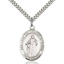 our lady undoer of knots pendant