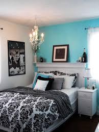 Blue black and white bedroom | Devine Interiors