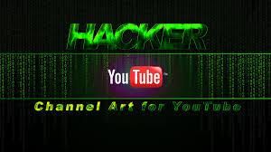 Channel Art Template Hacker Youtube Channel Art Template Download The Hacker Yo
