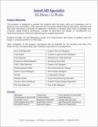 Cad Drafter Resume Example Free Download