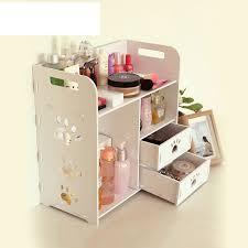aliexpress 2017 europe organizador cosmetics wooden storage box diy makeup organizer eco friendly glossy rectangle waterproof