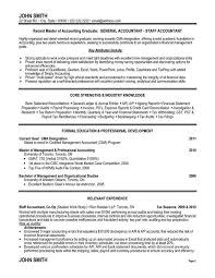 Gallery of: Staff Accountant Resume Sample