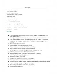 private housekeeper resume sample exampl samples house cleaning x gallery of housekeeping resume format