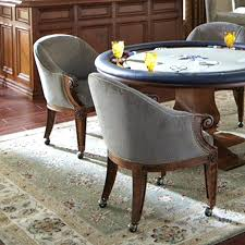 dining chairs casters. swivel dining chairs with casters uk without