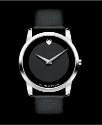 movado unisex swiss museum black leather strap watch 40mm 0606502 movado unisex swiss museum black leather strap watch 40mm 0606502