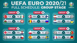 Match Schedule: UEFA EURO 2020/2021 - YouTube