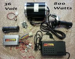 36 volt motor scooter 36 volt 800 watt motor controller and throttle kit complete
