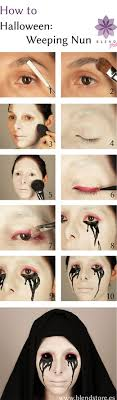 scary makeup step by step