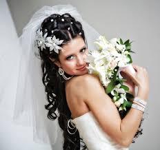Svatební účesy Pro Dlouhé Vlasy Se Závojem