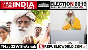 Sadhguru Makes 17 Hour Journey Home From Usa To Cast His Vote In
