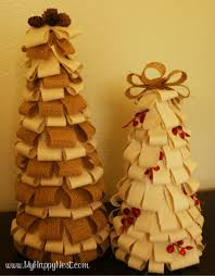 ... Christmas Trees {Sparkly Burlap Tutorial}. 1000+ images about Idee per  la casa on Pinterest | Feltro, Natale and Wicker