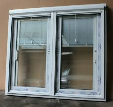 aluminumupvc frame glass door with built in blinds big sliding glass patio doors with built in