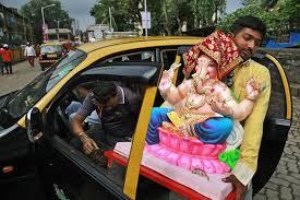 Resultado de imagem para ganesha chaturthi mumbai