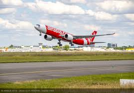 Airasia Receives Its First A330neo Commercial Aircraft