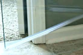 shower door bottom sweep home depot shower door drip rail glass bottom sweep with 3 home