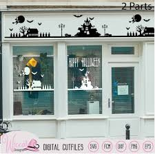 Average rating:0out of5stars, based on0reviews. Halloween Window Decal Cut File Svg Dxf Fcm Eps And Png Wiccatdesigns