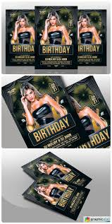 Birthday Flyers Birthday Flyers Template 561458 Free Download Vector Stock