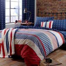 boys assorted single duvet quilt cover bedding set stars stripes blue red white by catherine lansfield for homeware in new zealand
