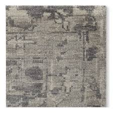 mystic medallion hand knotted rug grey