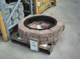 inspirational fire pit insert que paver kit wish gas intended for 0