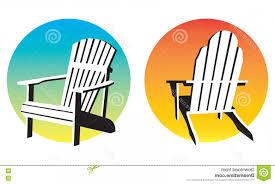 adirondack chairs on beach sunset. Modren Chairs Adorondack Vector Stock Illustration Adirondack Chair Sunset Graphics  Vector Illustrations Two Different Muskoka Beach Chairs And On I