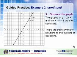 solving systems of linear equations guided practice example 2 continued