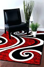 red and black area rug modern red area rugs red area rugs luxury red black swirl