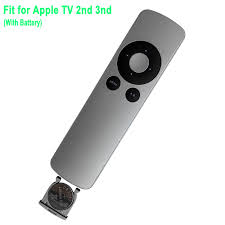 Generic NEW Replace Remote MC377LL/A A1378 for Apple TV 2 3 with CR2032  Battery