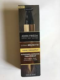 john frieda brilliant brunette visibly brighter in shower lightening treatment