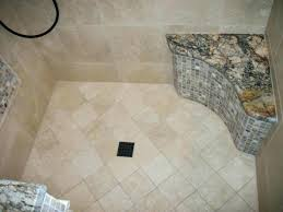tile shower onyx mosaic and granite seat with floor bench how to install a floating w