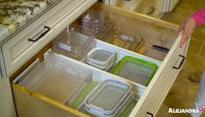 Kitchen Drawer Organizing How To Organize A Deep Kitchen Drawer