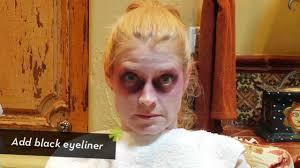 38 zombie and bride of frankenstein makeup tutorial
