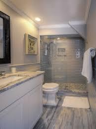 basement bathroom remodeling. Wonderful Bathroom Basement Remodel Full Bathroom With Curbless Shower Subway Tile Natural  Stone Hardwood Floors To Remodeling H