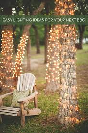 easy lighting. Modren Lighting Roundup Easy DIY Outdoor Entertaining Lighting Ideas To