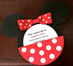Make Your Own Mickey Mouse Invitations Birthday Invitation How To Make Mickey Mouse Birthday Invitations