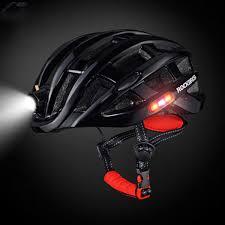 Rockbros Helmet With Lights Amazon Com Unitedheart Rockbros Outdoor Sports Helmet With