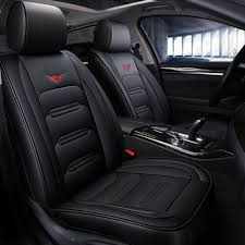 universal car seat covers set leather