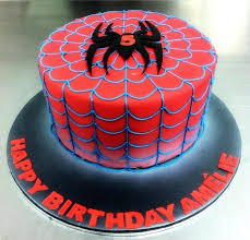 27 Marvelous Image Of Spiderman Birthday Cakes Birijuscom