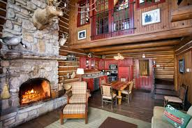 Lodge Style Bedroom Furniture Private Two Bedroom Cabin With Loft Branson Missouri Resorts