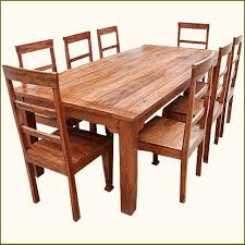 impressive solid wood dining table and chairs 28 rustic wood dining room sets furniture rustic wooden