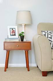 how to decorate an end table jesse