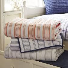 Ticking Stripe Quilt | Wayfair & Save to Idea Board Adamdwight.com