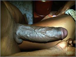 Big black jamaican cock wank outdoor