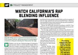 Asphaltpro Magazine Watch Californias Rap Blending Influence