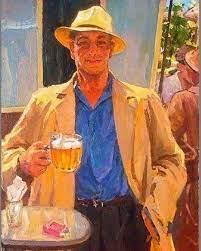 Пиво в искусстве. Любимов Владимир... - BEERжа ПИВА Грэс | Facebook