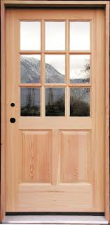 steel doors which obviously won t warp or twist and are unaffected by mildew or moisture when properly finished have a middle insulating layer
