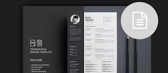 Unique Simple Pdf Resume Template Picture Collection Examples