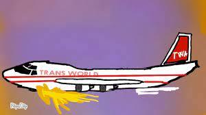 TWA Flight 800 animation (flipaclip ...