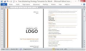 Microsoft Word Strategic Plan Template Stockphotos With Microsoft