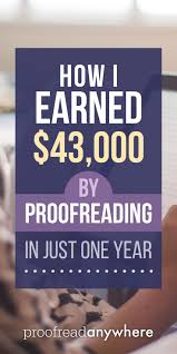 images about work from home job leads what were my total proofreading earnings in i reveal it in this post